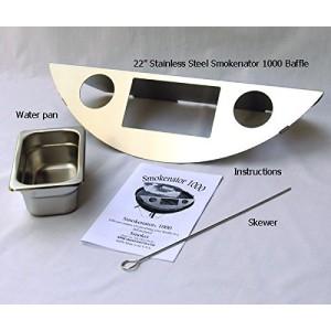 KettlePizza Smokenator 180 - for Weber 47cm Kettle Grills